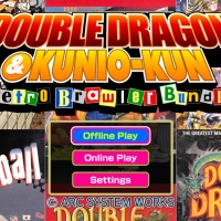 Double Dragon & Kunio-kun Retro Brawler Bundle: te presento a Kunio